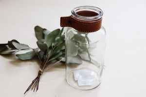 Decor Glass Jar