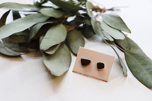 Bali Sea Glass Stud