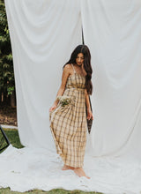 Load image into Gallery viewer, The Gwen Plaid Maxi Dress