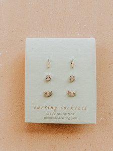 Vibey Sterling Studs Set