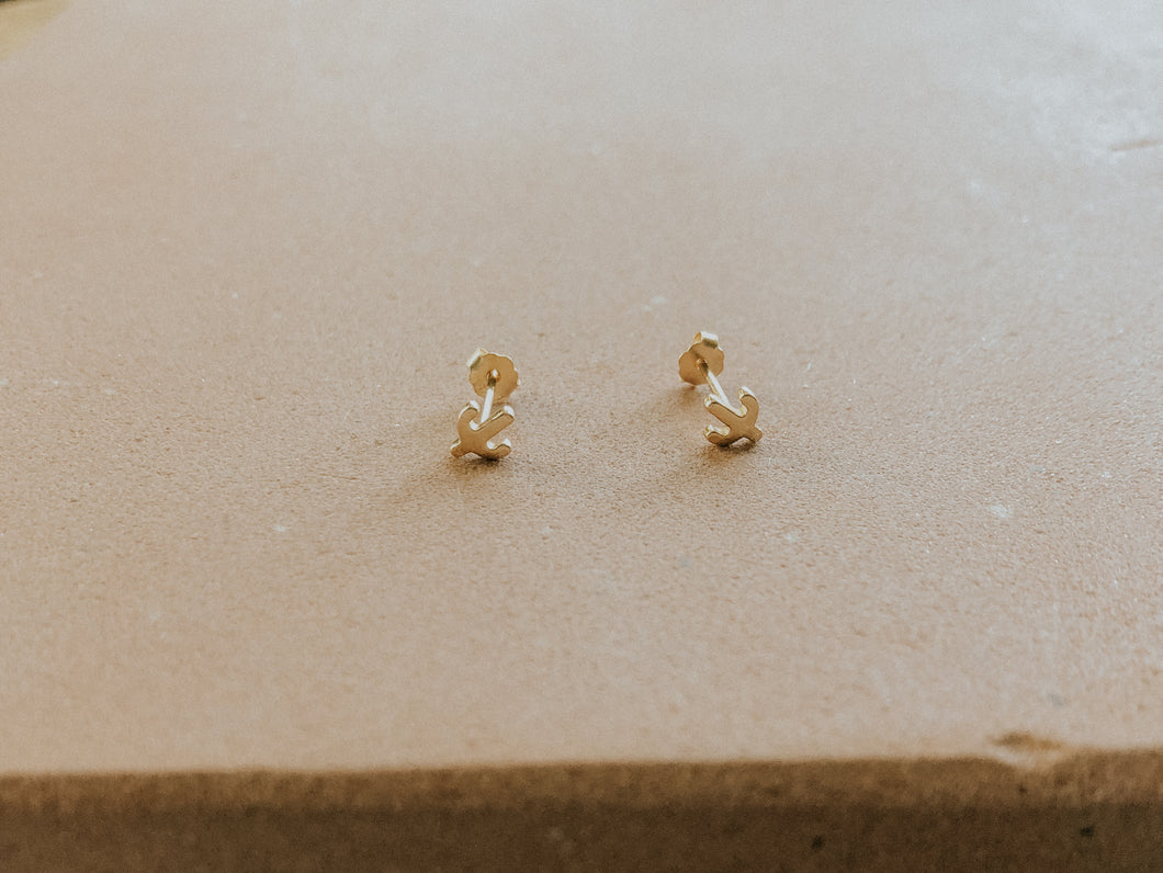 Tiny Cactus Stud Earrings