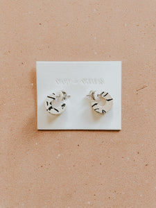 Mali In Marble Earring