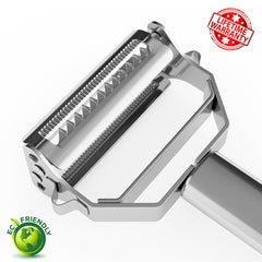 Julienne Peeler & Vegetable Peeler Stainless Steel by  Keri's Kitchen - Vegetables Peeler - 2