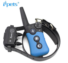 Dog Training Collar Rechargeable, Rainproof 1000 yard Knob Control Remote Training Collar, Auto-Bark