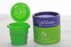 Cup Verde® Refillable & Reusable K-Cup For Keurig Brew Coffee - Coffee - 4
