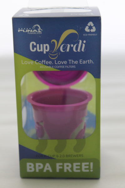 Cup Verde® Reusable 2.0 K-Cup For Keurig 2.0 and Other Coffe Brewers - Coffee - 1