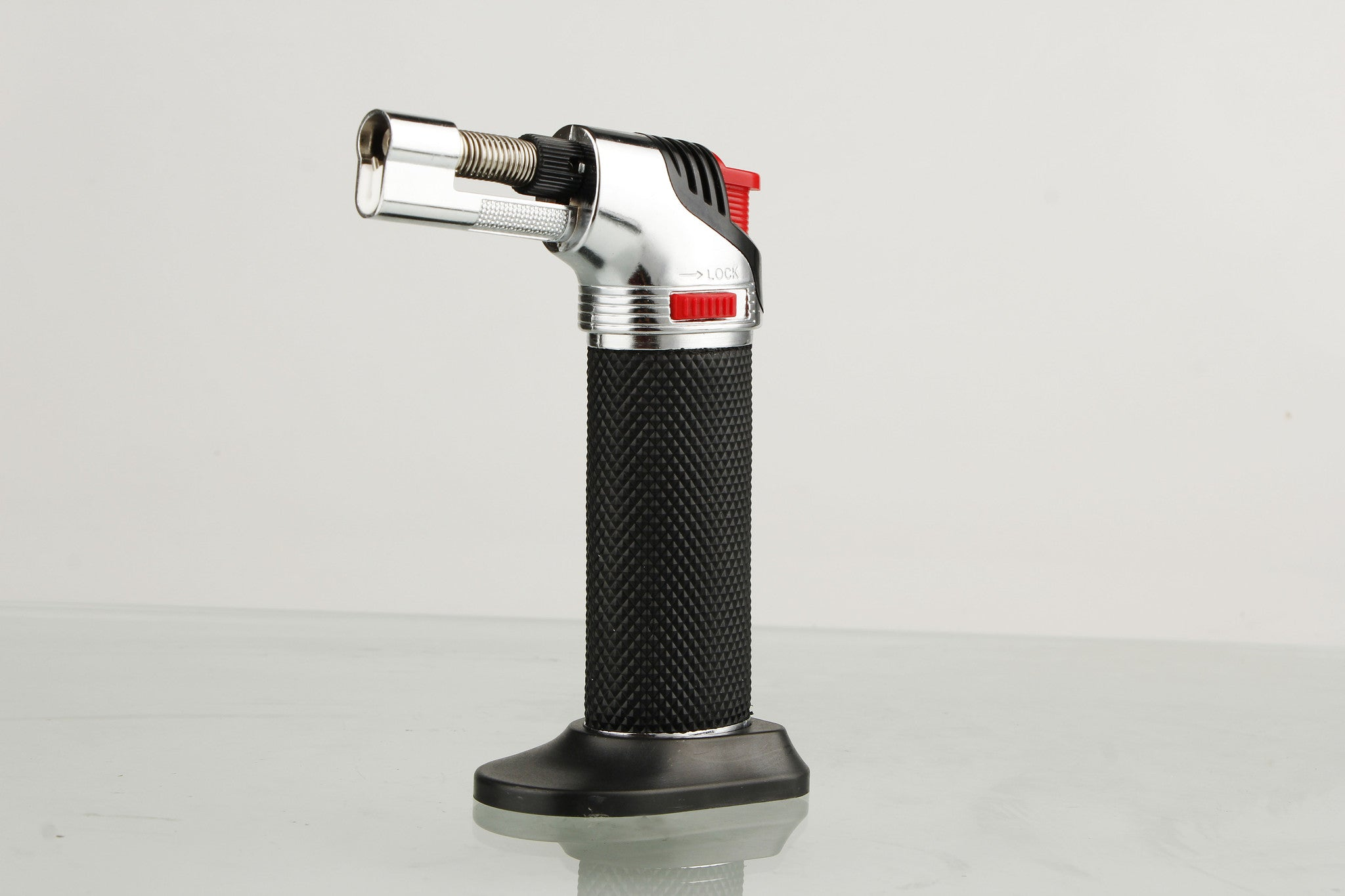 Fogo Micro Butane Torch with Jet Windproof Flames Lighter - Kitchen - 1