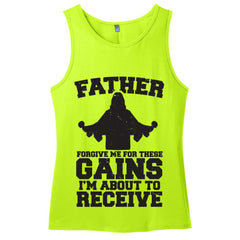 Father Forgive Me For These Gains I'm About To Receive Men's Tank Top - Shirts - 2