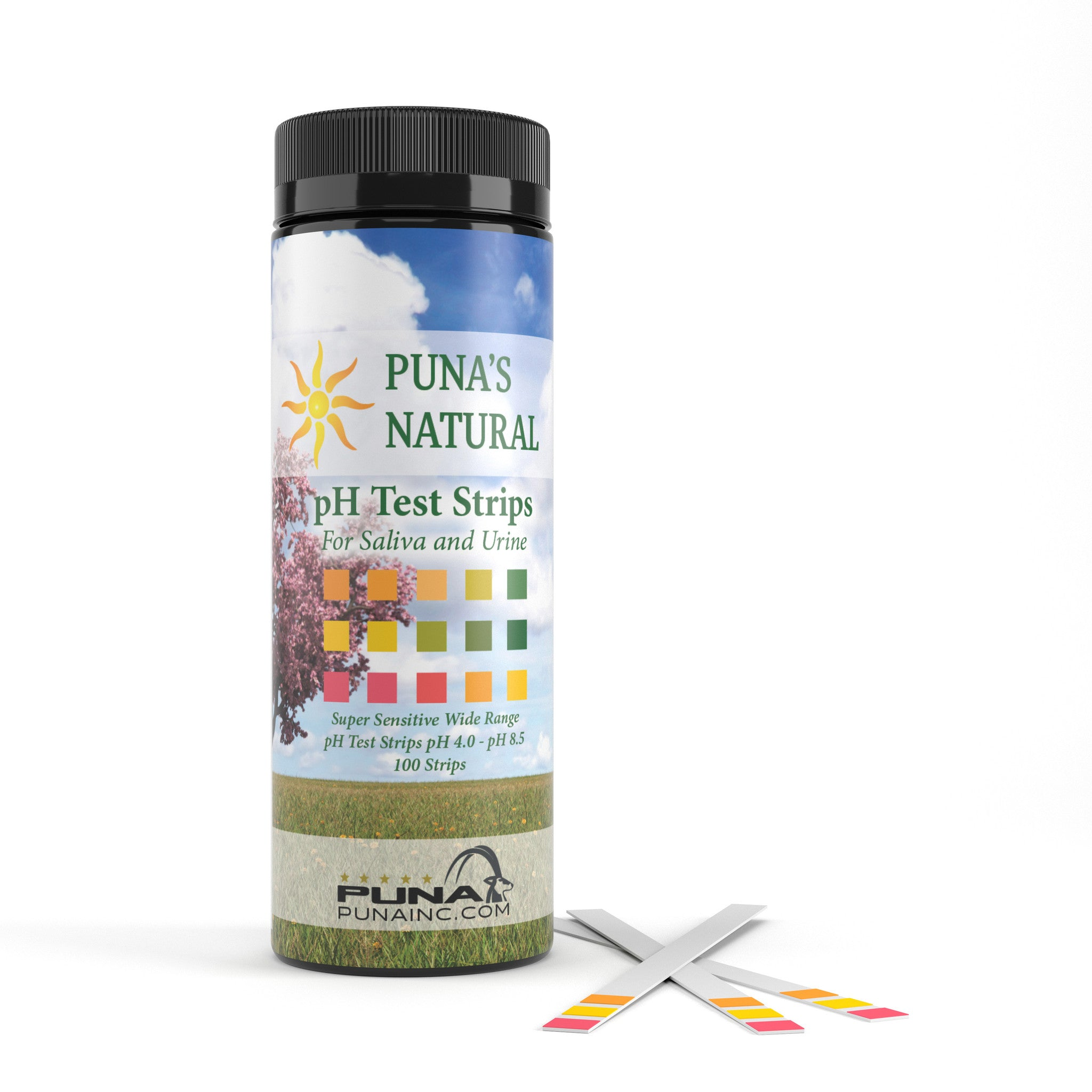 Natural PH Test Strips by PUNA - Wellness - 1