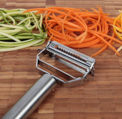 Julienne Peeler & Vegetable Peeler Stainless Steel by  Keri's Kitchen - Vegetables Peeler - 8