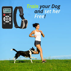 Dog Shock Collar - 2 in 1 Remote-Controlled Dog Training Collar by Puna - Pet - 2