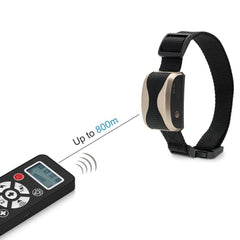 Dog Shock Collar - 2 in 1 Remote-Controlled Dog Training Collar by Puna - Pet - 3