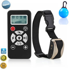 Dog Shock Collar - 2 in 1 Remote-Controlled Dog Training Collar by Puna - Pet - 1