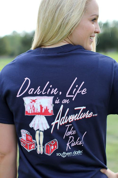Darlin', Take Risks Tee