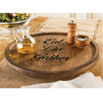 Eat Live Gather Lazy Susan