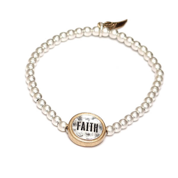 Inspire with Words Bracelet: Faith