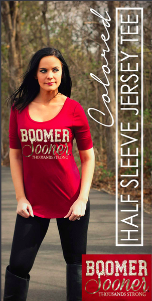 Game Day Half Sleeve Jersey Tee
