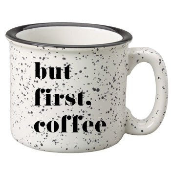 But First Coffee Campfire Coffee Mug