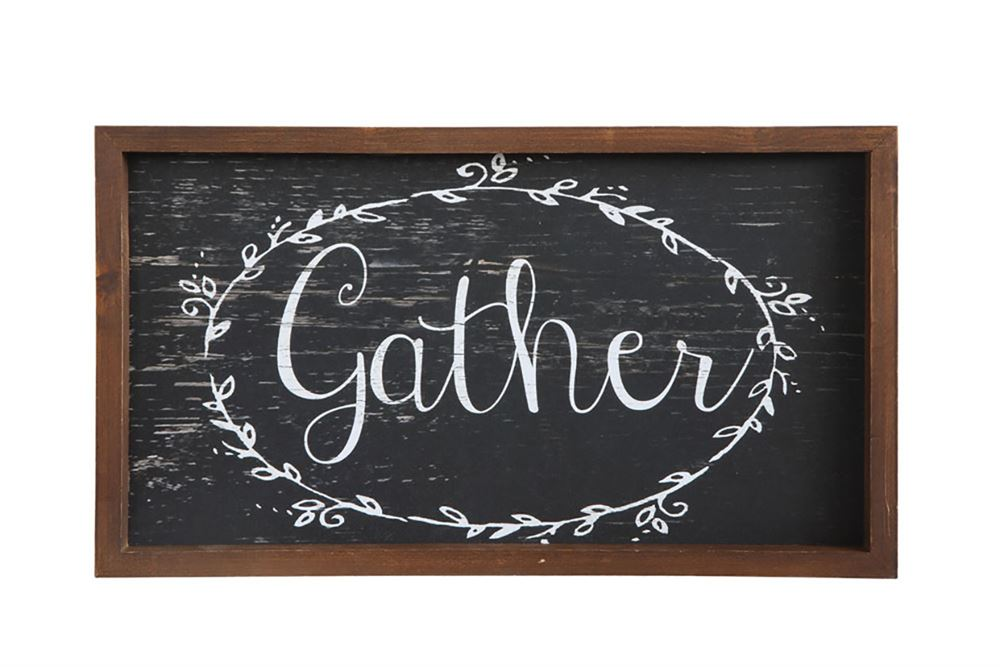 """Gather"" Wall Decor"