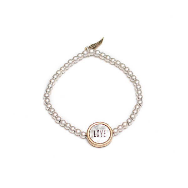 Inspire with Words Bracelet: Love