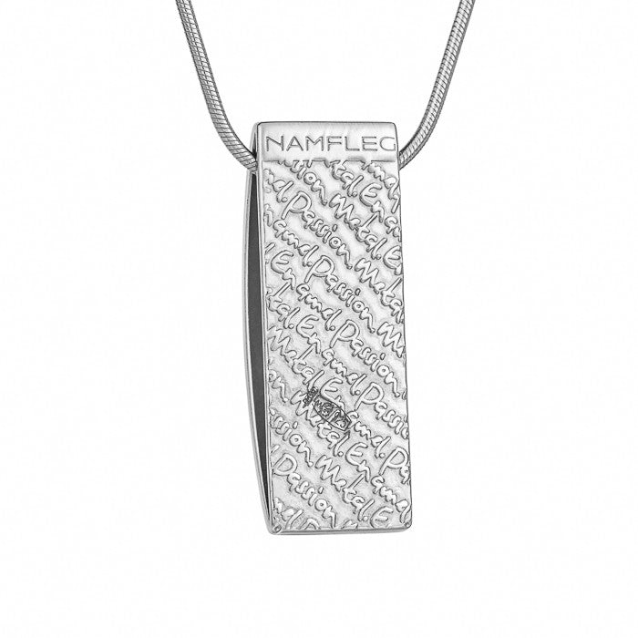 "Silver pendant ""Athens Houses"". Special Edition. pd1007p - Namfleg Enamel Jewelry"