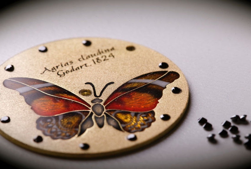 Glorious Butterfly. Stealing Beauty. - Namfleg Enamel Jewelry