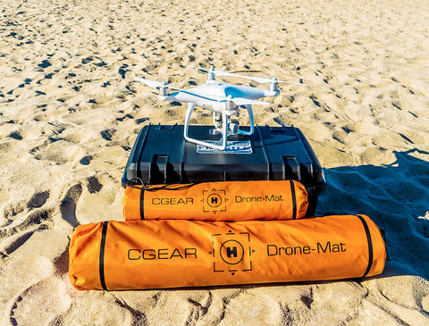CGear Sand-Free Drone Mat.