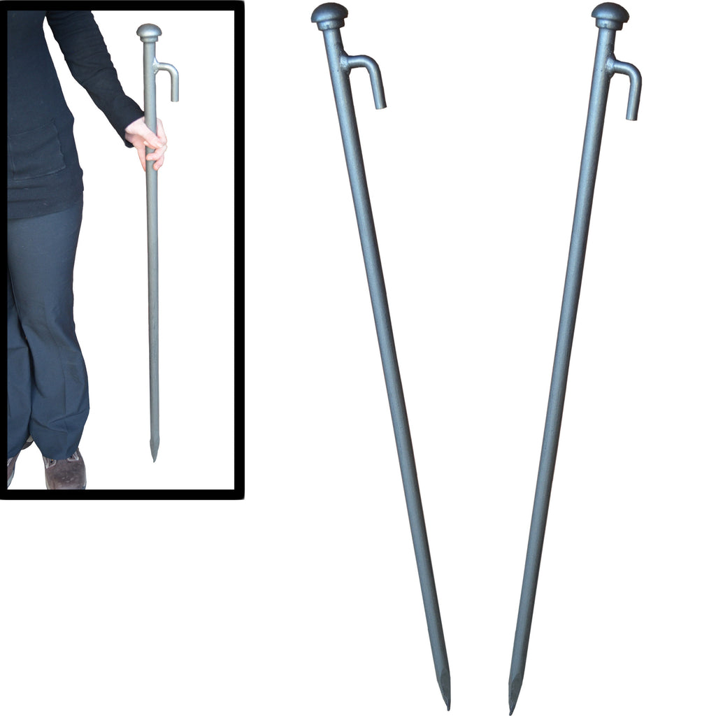 Superhuge Stakes. Heavy Duty Tent, Gazebo, Marquee Pegs 1.1m x 25mm. Quantity Discount