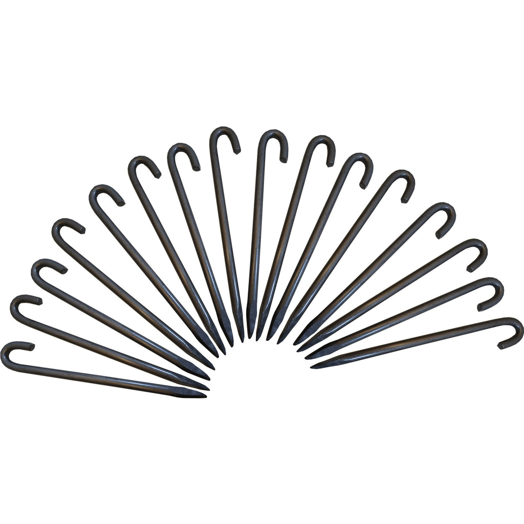 16mm Forged Steel, Heavy Duty, Tent, Gazebo, Marquee Pegs, Stakes. Quantity Discounts available