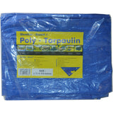 Weather-Guard Poly - Tarpaulin Blue 2.7m x 3.6m Lightweight 80gsm 1/2/5/10