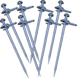 Very Heavy Duty 600mm x 20mm 360 degree Swivel Stakes, Boating, Dog Tie-outs
