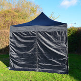 Gazebo Commercial Grade SHOWSTYLE® 3m x 3m Black Heavy Duty