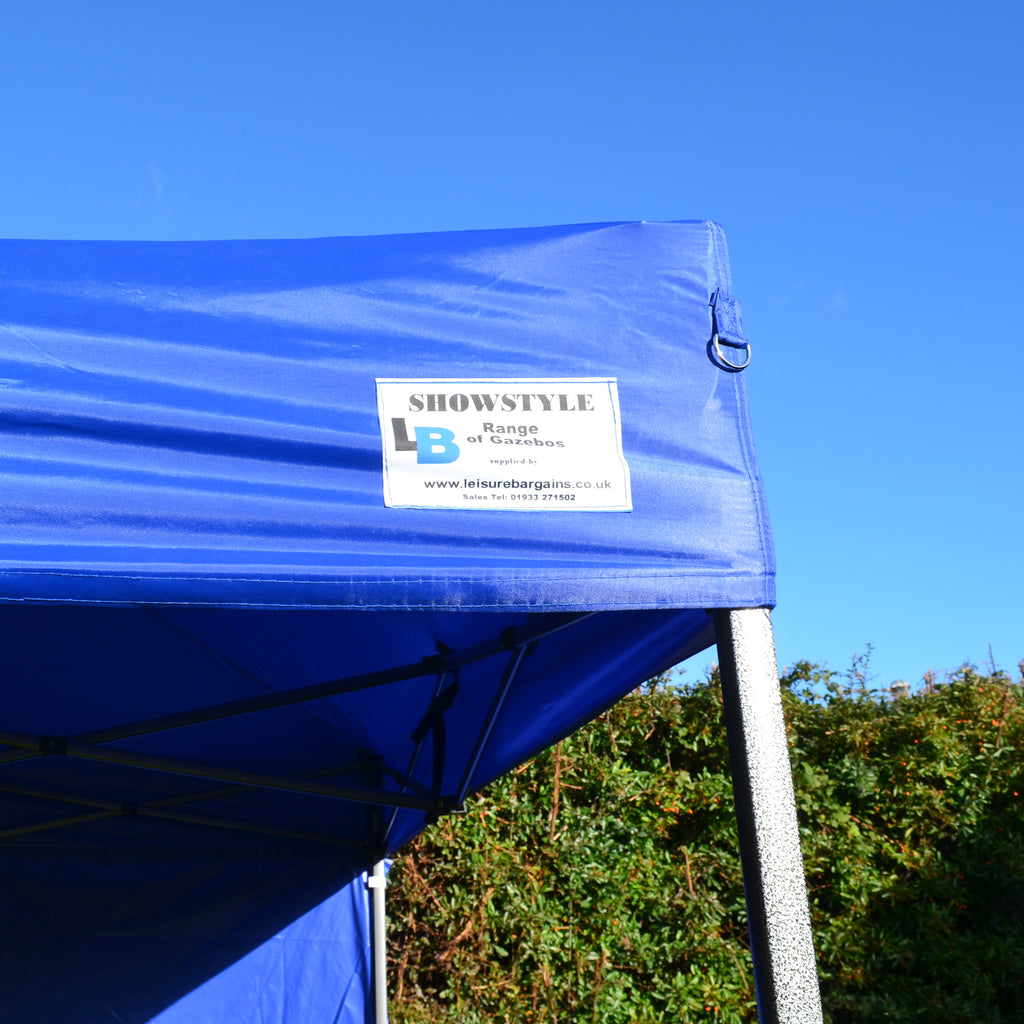 Ex-Demo Blue Pop Up Gazebo Canopy to fit our 3m x 3m Showstyle® Gazebo