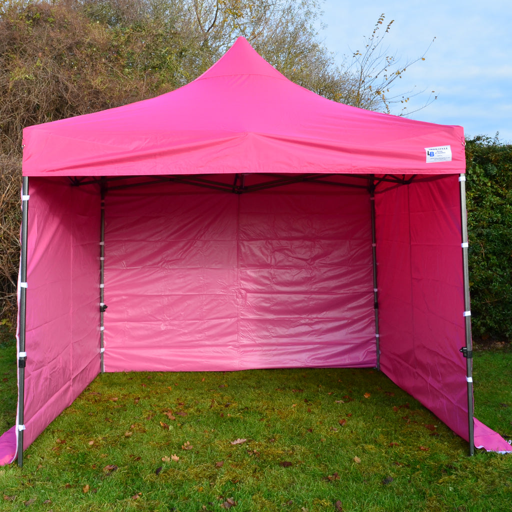 Gazebo Commercial Grade SHOWSTYLE 2m x 2m Shocking Pink Heavy Duty