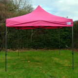 3m x 3m Shocking Pink Heavy Duty SHOWSTYLE Commercial Grade Gazebo