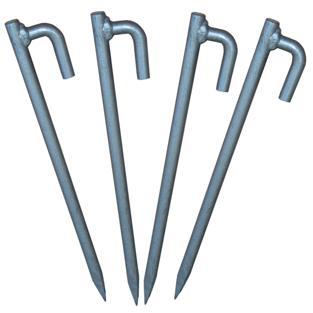 Heavy Duty Tent, Gazebo, Marquee Pegs, Stakes. 390mm x 18mm Forged Steel. Quantity Discounts
