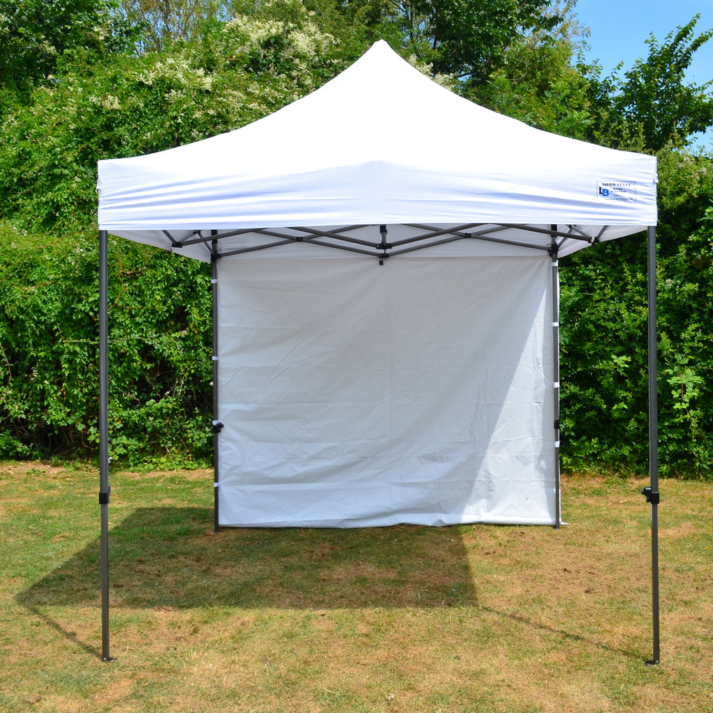 Gazebo Commercial Grade SHOWSTYLE 2.5m x 2.5m White Heavy Duty