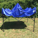 Gazebo Commercial Grade SHOWSTYLE 2.5m x 2.5m Royal Blue Heavy Duty