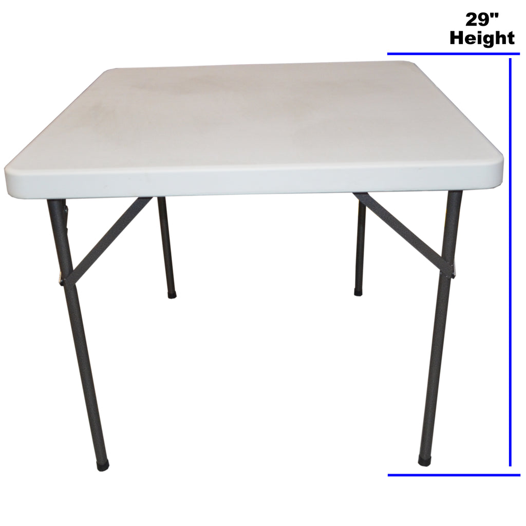 3ft Blow Moulded Trestle Table Market Stall Super Strong with Folding Legs