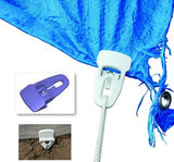 Clingons, Reusable clips for tarpaulins