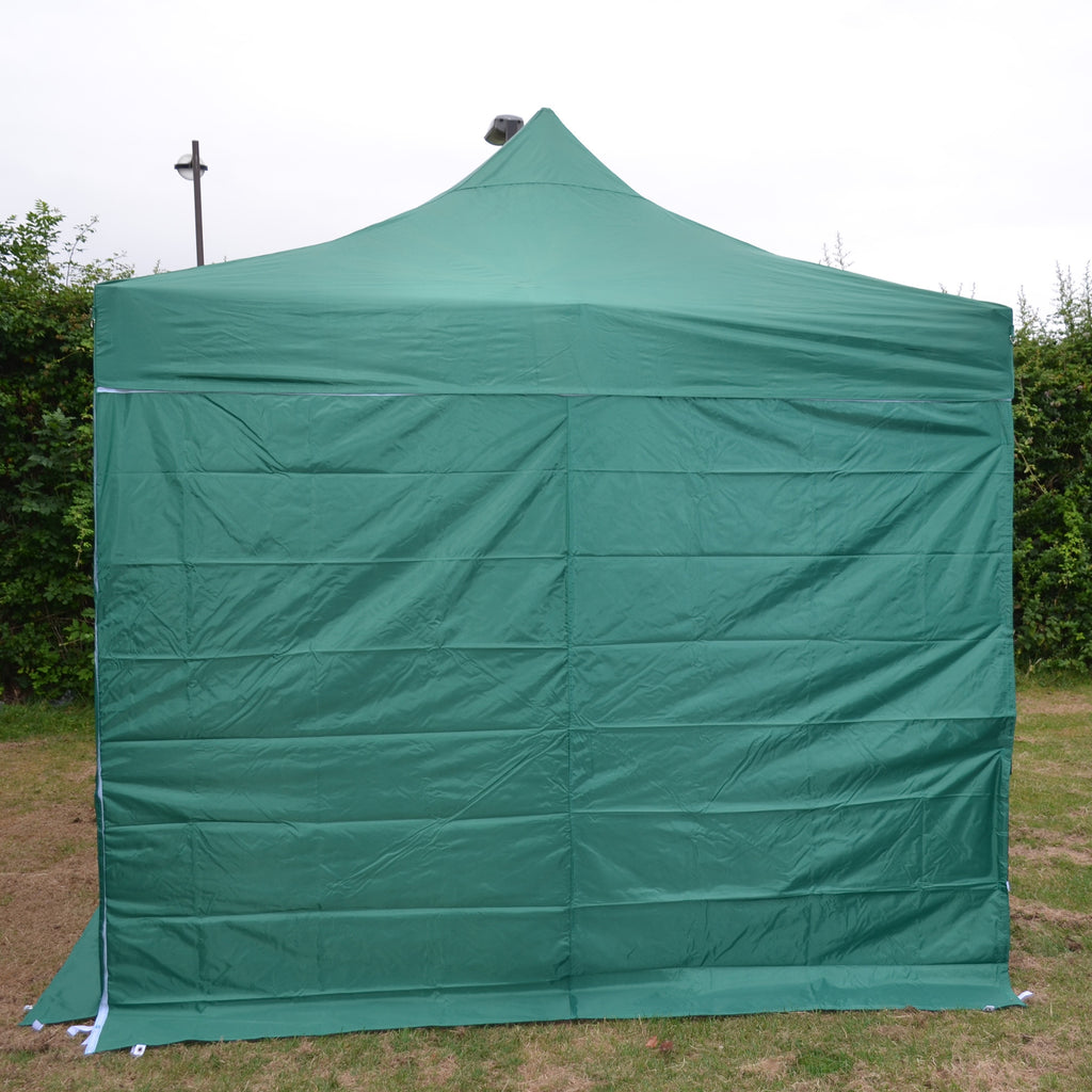 Green Plain Sidewalls to fit our 3m x 3m Showstyle Gazebo