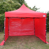 Red Heavy Duty SHOWSTYLE Commercial Grade Gazebo, Market Stall, Pop Up 3x3m, Options