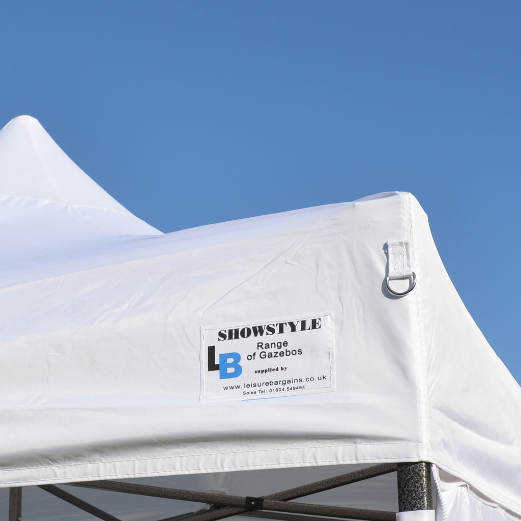 Ex-Demo White Pop Up Gazebo Canopy to fit our 3m x 3m Showstyle® Gazebo