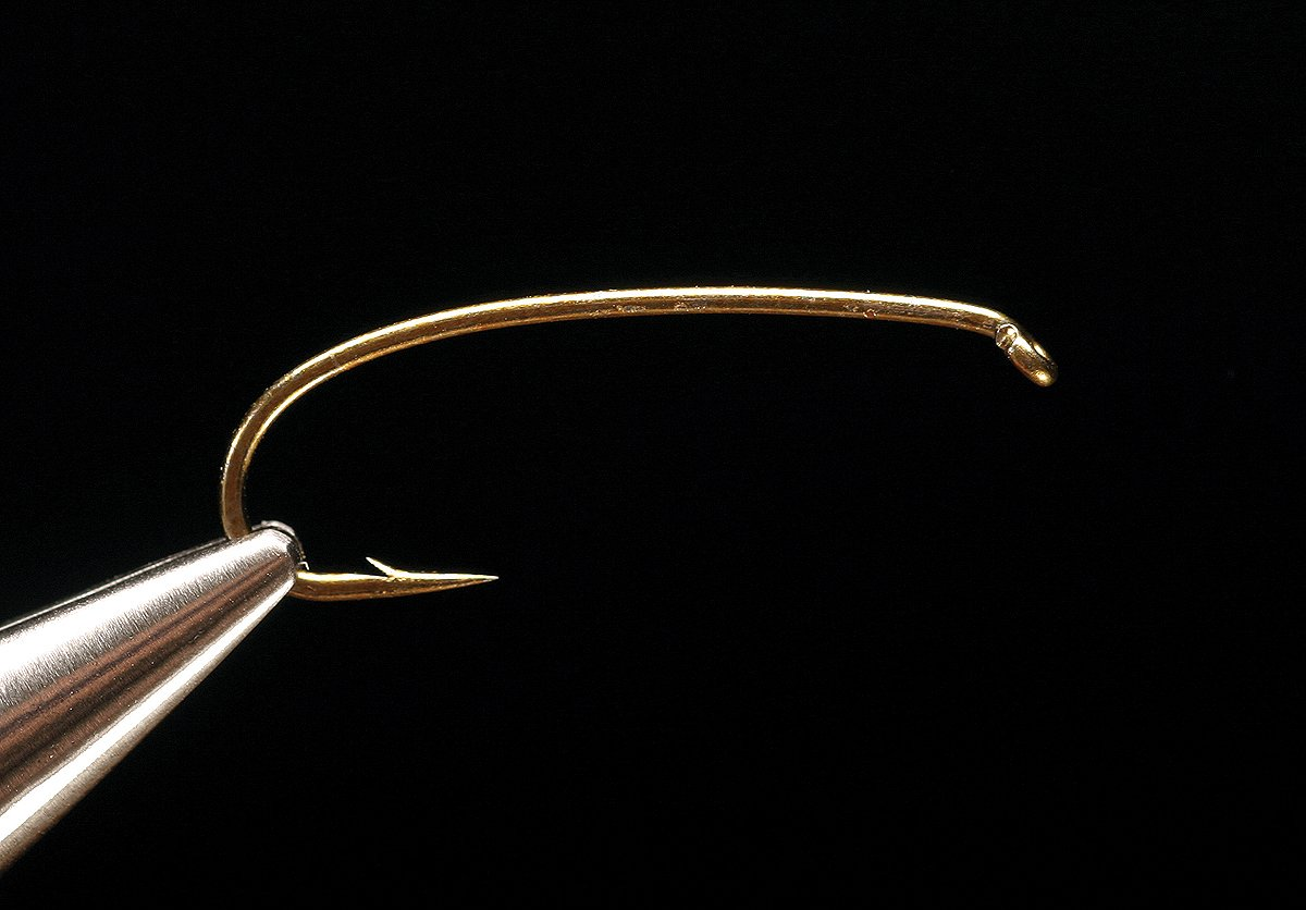 1760 (Bronze) 2X-Heavy Curved Nymph Hook - The TroutFitter Fly Shop