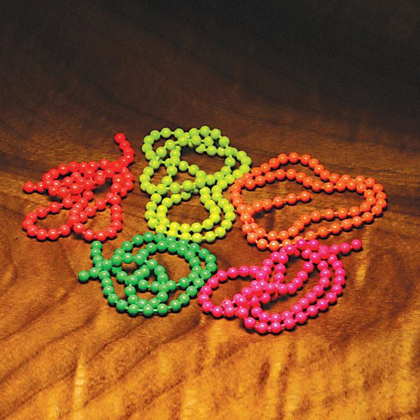 Fluorescent Bead Chain Medium - The TroutFitter Fly Shop