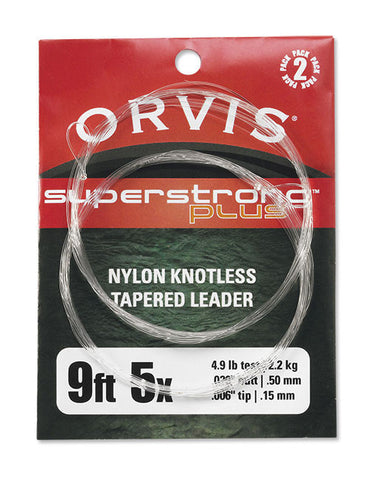 Orvis Super Strong Plus Leaders 2PK - The TroutFitter Fly Shop - Syracuse, New York