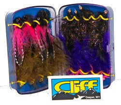 CLIFF - The Articulator Fly Box - The TroutFitter Fly Shop