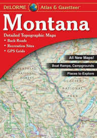 Montana State Atlas & Gazetteer 9th edition - The TroutFitter Fly Shop