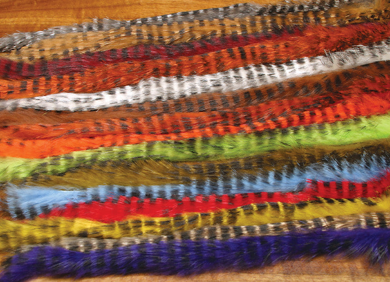 Barred Rabbit Strips - The TroutFitter Fly Shop