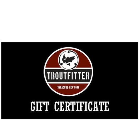 Gift Card - The TroutFitter Fly Shop
